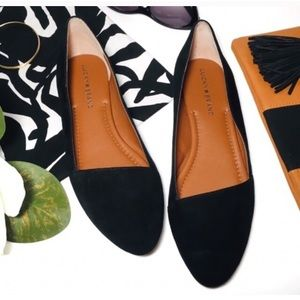 """Lucky Brand """"Archh"""" Flats - Black Suede 8"""